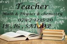 Physics Tutor  IG, IB & SAT