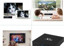 جهاز أندرويد6 x96 smart tv box يعمل على إي جهاز تلفزيون أو شاشة فيحوله إلى سمارت