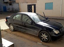Blue Mercedes Benz C 200 2002 for sale