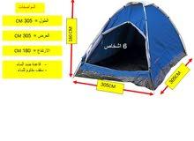 خيمة ل 6 اشخاص نوع (سفاري) لم تستخدم الحقيبةالاصلية وتغليف المصنع -