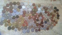 قطع نقدية قديمة اروبيا الملكة اليزابيت واخرى