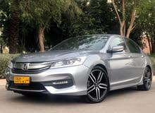 Americans space 2016 Honda Accord 4 cylinder