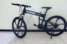 "Hummer Black 26"" FOLDABLE BICYCLE - Alloy Wheels"