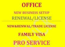 OFFICES.. NEW BUSINESS SETUP. RENEWAL LICENSE?PAYMENT VOUCHER?ONLINE EJARI ??PRO