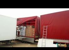 شاحنة افيكو بالجرار لنقل البضائع داخل وخارج ليبيا
