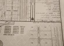 5 أراضي للبيع ف الباطنه ف بركا ب 12 ألف الارض