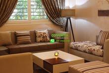 شقة ممتازة طابق أرضي مفروشة للإيجار بالمنزه السابع بجانب حي النصر 2