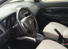Automatic Black Mitsubishi 2013 for rent