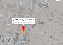 للبيع ارض سكنيه في بركاء حي عاصم
