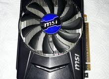 msi Nvidia Gtx 750Ti OC 2جيجا gddr5