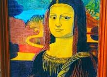 لوحة الموناليزا العراقية لوحة قديمه جدا
