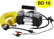 Heavy Duty Portable Air Compressor Dual Cylinder Direct Drive 12VSpecification
