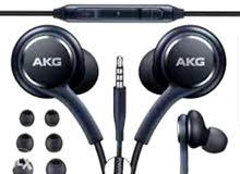 سماعات S10+ AKG ممتازة للالعاب الافلام الموسيقى اصلية سامسونغ، متوفر منها كوبي.