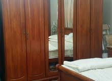 غرفة نوم خشب ماليزي ممتاز
