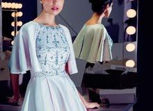 فستان من لندن ماركة فيفد فلير سماوي