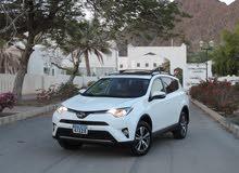 Toyota RAV 4 car for sale 2016 in Nizwa city