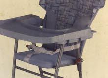 كرسي اطفال لون سماوي من ريد تاغ