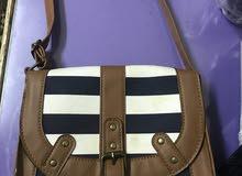 cute navy cross bag