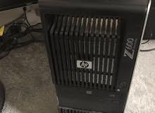 لاحدث جرافيك عاليHP WORKSTATION Z600 XEON x5650بـ2 برسيسور /كاش24 / 12 كور / رام 24