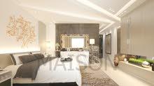 شقة اقساط في البنيات لمدة 40 شهر تشطيب فندقي ومن المالك شركة ميزون