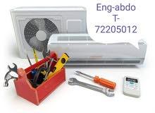 تركيب وصيانة مكيفات و ثلاجات و كهرباء المنزلية و محلات تجارية