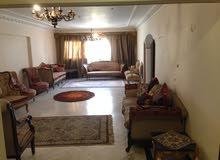 شقة 260 متر مسجلة في الدور الثاني مستويين من مكرم عبيد مدينة نصر