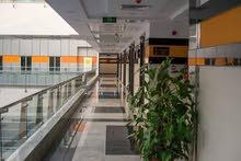 عيادة 45 متر للايجار بمكان مميزخلف المستشفى الجوي علي شارع التسعين الشمالي مباشره