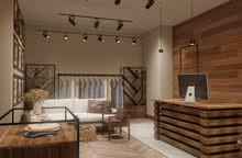 مصمم ديكورات خشبيه غرف نوم ومطابخ وابواب تفصيل حسب الطلب واسعارمناسبه