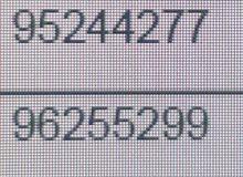أرقام ارويدو