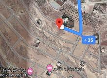 للبيع ارض 518 م في زبود و حسبان مطله على الضفه الغربيه