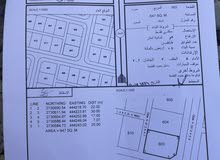 ارض لي البيع خلف مستشفى حميراء بولاية شناص كورنر موقع الأرض حلو