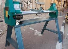 مخرطة خشب صناعه ألماني مستعمل قياس مجدد بحالة جيدة بدون عيوب 1متر