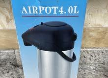 Nessan Vacuum Flask 4 Liter  دلة شاي 4 لتر