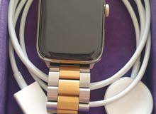 apple watch series 6 gps + cellular 44mm gold stainless steel