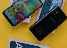 Samsung A71  كوري تجميع الامارات  64 قيقا رام 4 شريحتين  جديد كرتونه بالملحقات