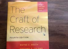 The Craft of Research - Fourth Edition For Sale
