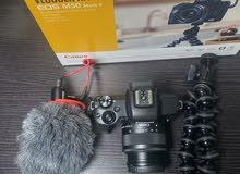كاميرة كانون (M50 Mark 2) 2021 عليها ضمان سنه