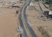 ارض تجارية  للبيع  في موقع ممتاز ,, تصريح بناء ( ارضي + 2 ) في منطقة الزاهية - عجمان KBH HOLDING