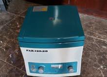 جهاز centrifuge لفصل البلازما من الدم