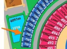 أرض للبيع في مدينة صباح الاحمد البحرية بالمرحلة الثانية رقم القسيمة : 733