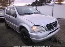 Available for sale!  km mileage Mercedes Benz ML 2001