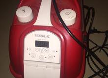 مكينة كهربائية تنظيف سجاد بالبخار