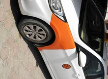 Hyundai Accent 2010 For sale - Orange color