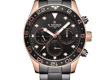 Naviforce NF9147 Mens Fashion Steel Quartz Luxury Analog Wrist Watch