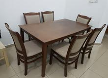 dining table with 6 chairs-0501405131