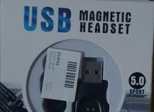 للبيع سماعات ذكية TWS 5.0 استريو لاسلكيه بلوتوث نظام شحن USB