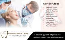 Platinum Dental Center Services