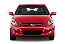 For a Day rental period, reserve a Hyundai Accent 2018