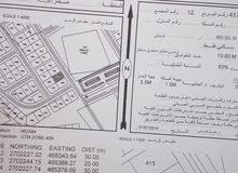 للبيع أرضين شبك سكنيات (الملتقى مربع 12)ولاية صحار