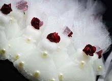 مطبقنيات صابون للاعراس بأجمل روائح على شكل فستان العروس
